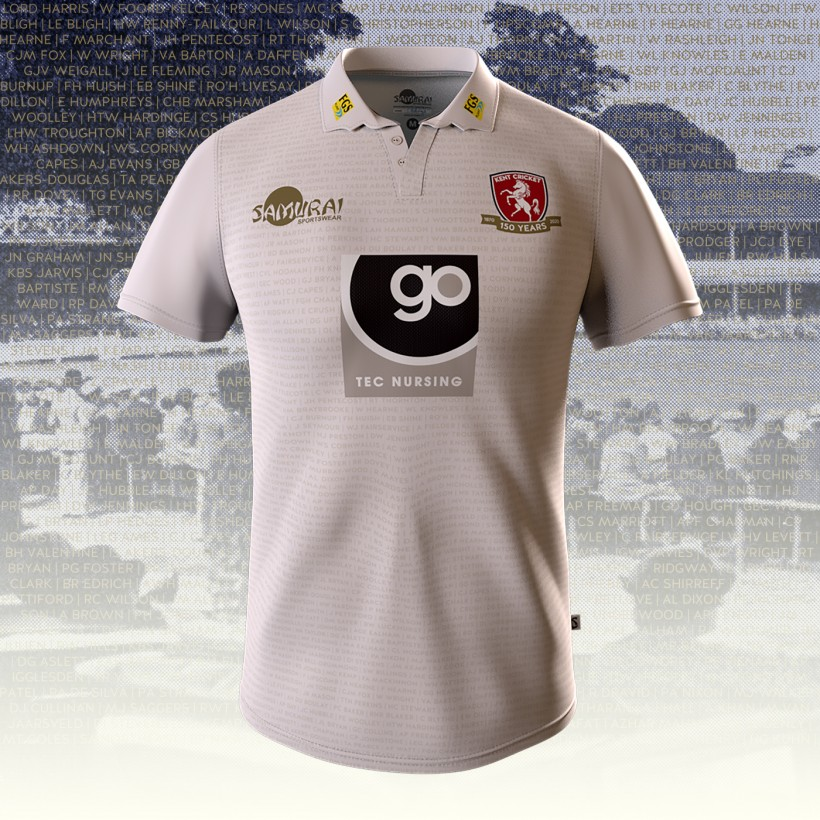 Club unveils 150th Year County Championship shirt