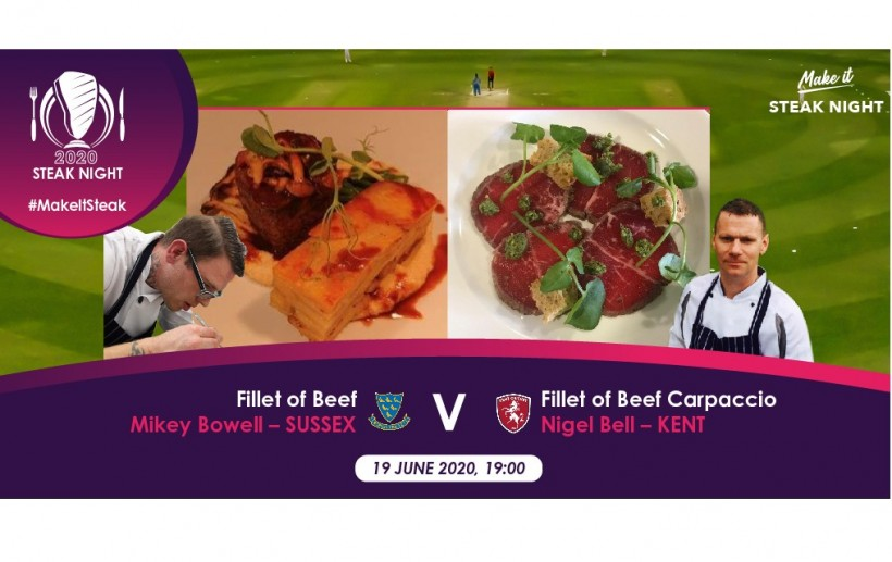Kent take on Sussex in cooking competition