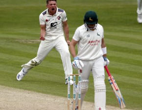 Bowlers toil on Day Two