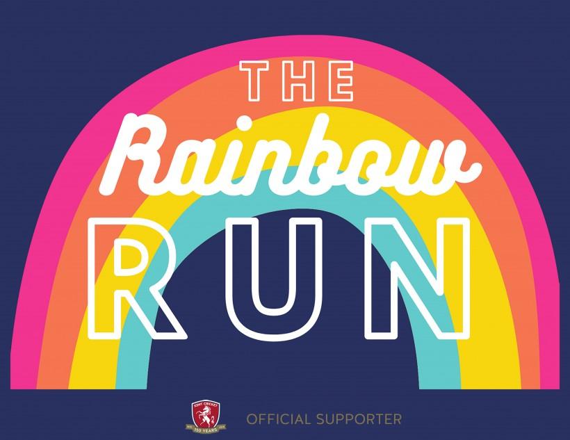 Kent Cricket and Shepherd Neame support 'The Rainbow Run'