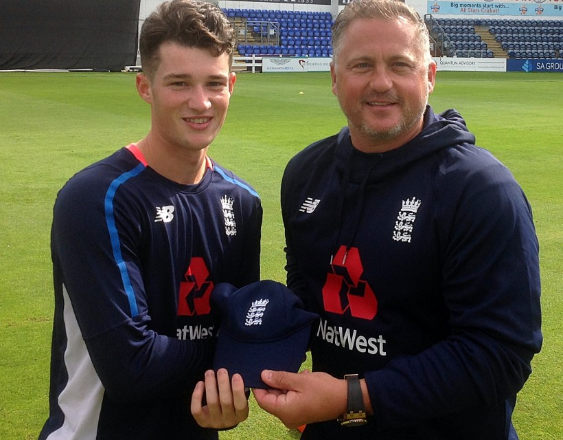Ollie Robinson makes England U19 ODI debut