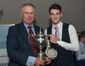 Robinson wins Kent league award