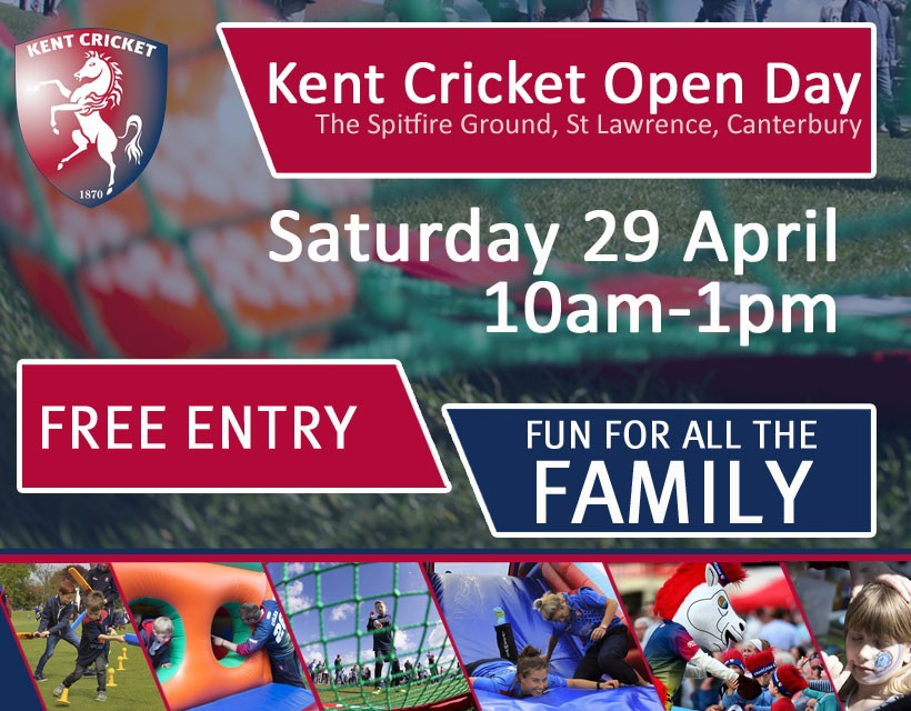 Kent Cricket Open Day 2017 at The Spitfire Ground