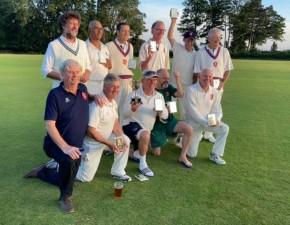 Kent Seniors win National Championship 60+ First XI Trophy