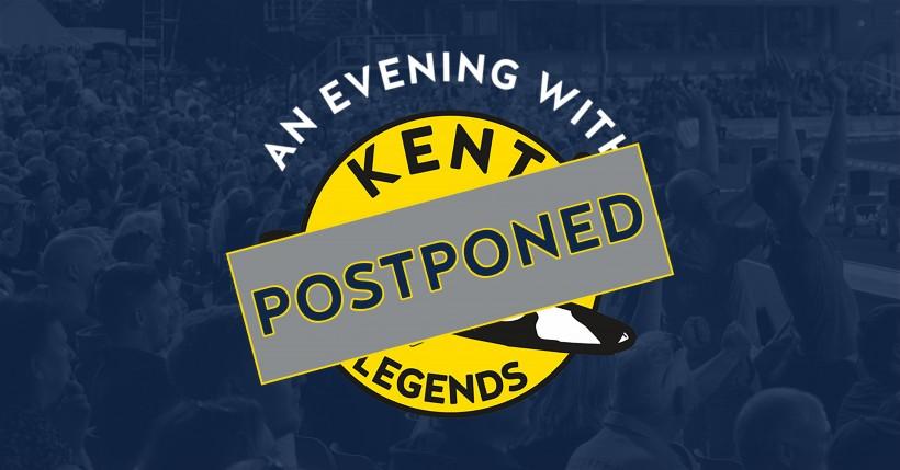 **POSTPONED ** An Evening with Kent Legends