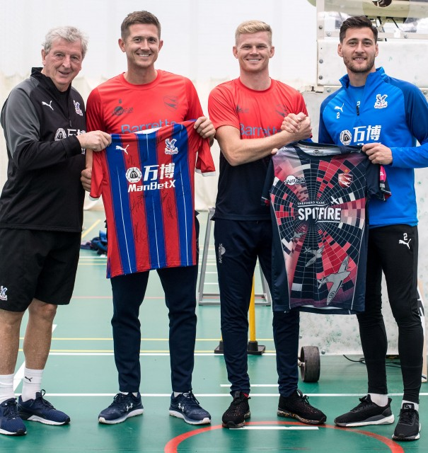 Denly and Billings train with Crystal Palace