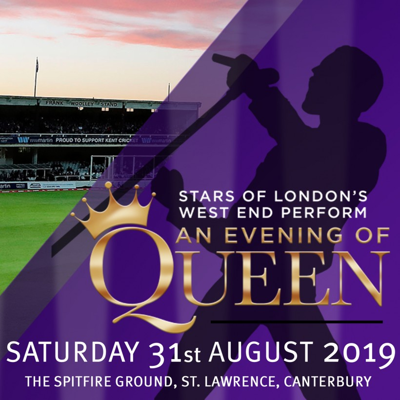 An Evening of Queen set to rock The Spitfire Ground in Canterbury