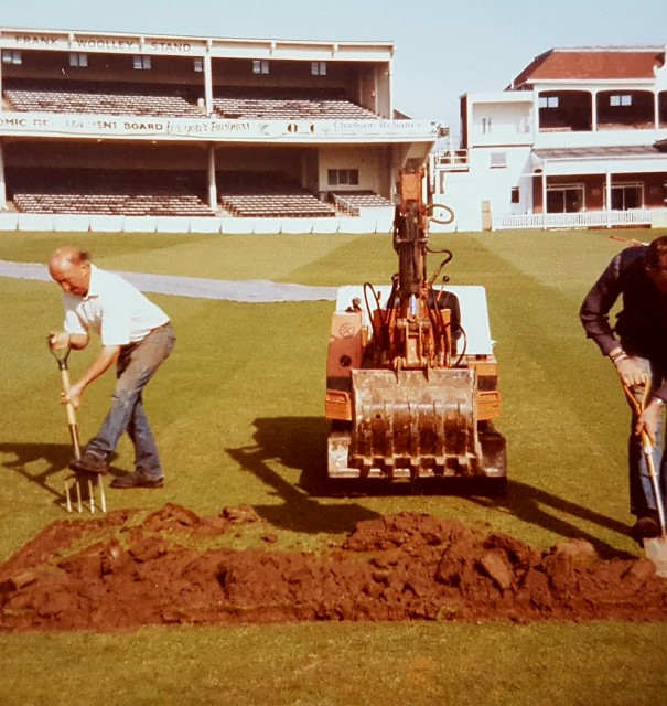 Former groundsman Sam Fidler dies