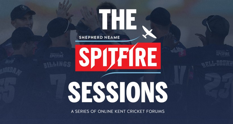 Kent Cricket launches 'The Spitfire Sessions'