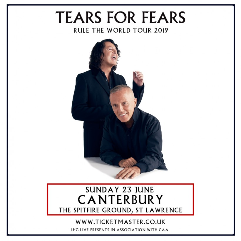 Tears for Fears to perform at The Spitfire Ground