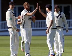 Kent bowlers impress in Surrey friendly
