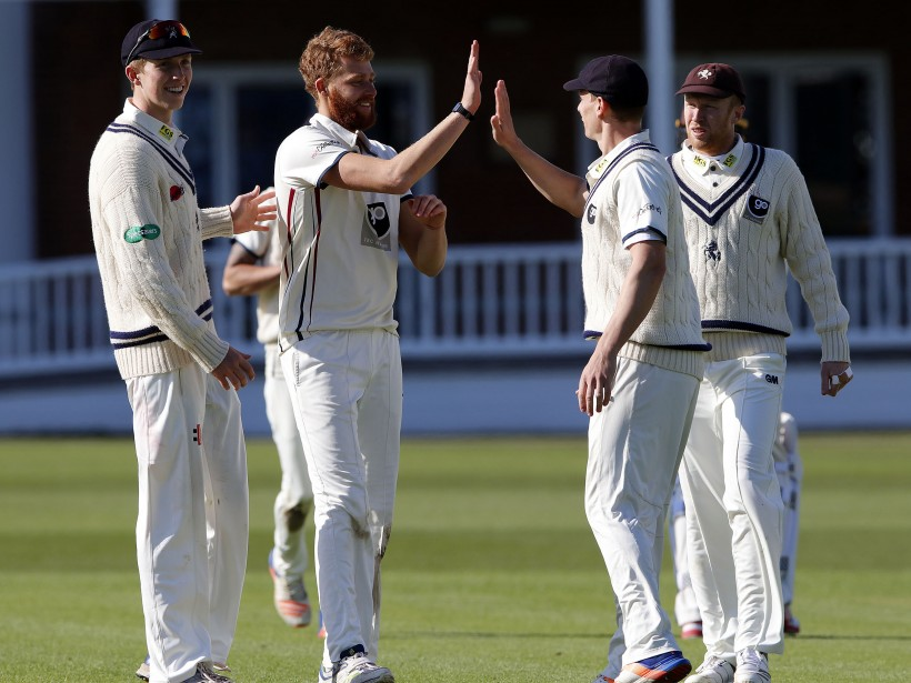 Kent bowlers impress in Surrey friendly