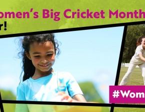 Women's Big Cricket Month!