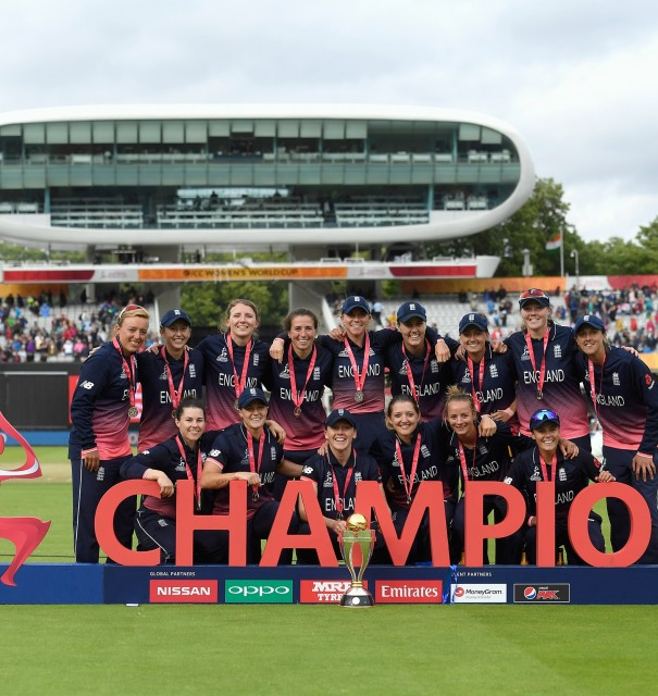 Beaumont & Marsh crowned world champions