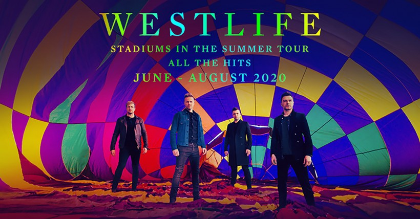 Westlife to play at The Spitfire Ground next Summer