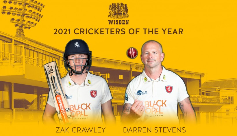 Crawley & Stevens named Wisden Cricketers of the Year