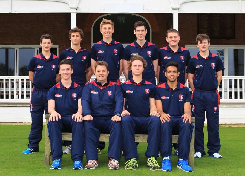 Three new scholars in Kent Cricket Academy 2014/15