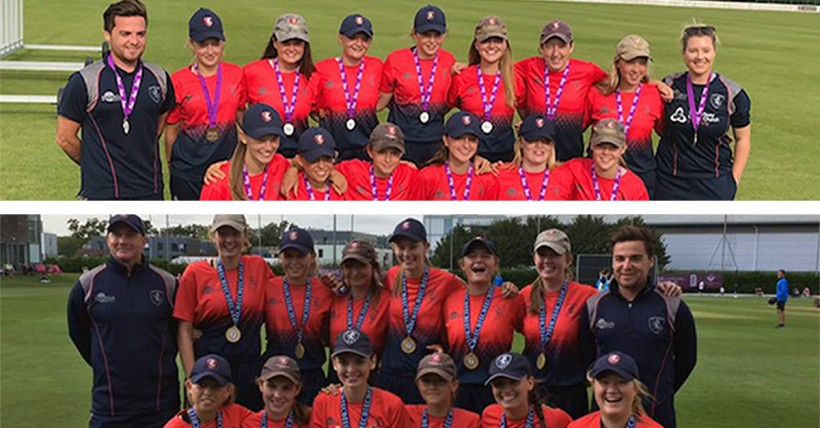 Girls' age group squads national champions