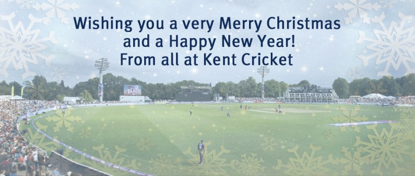 2016 festive office closures at Kent Cricket