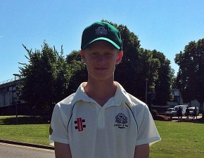 Academy keeper Jordan Cox takes eight catches in an innings