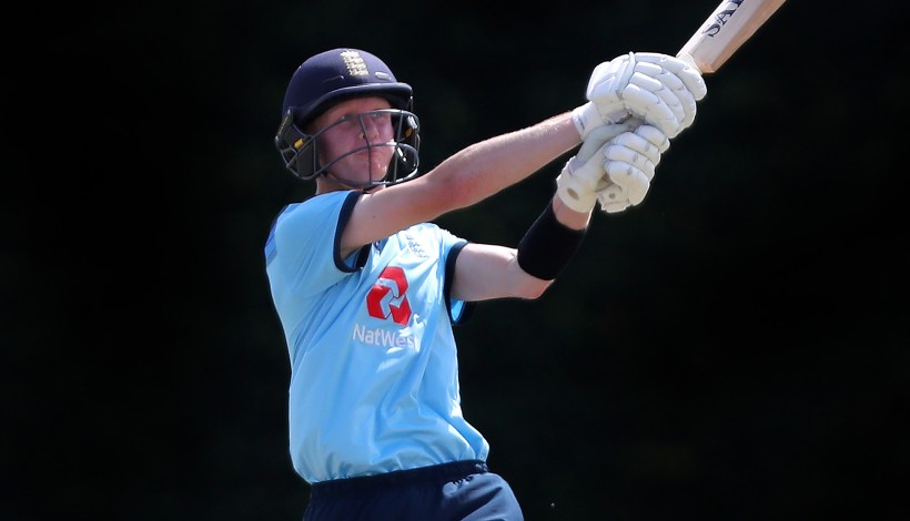 Cox hits second ton for England U-19s