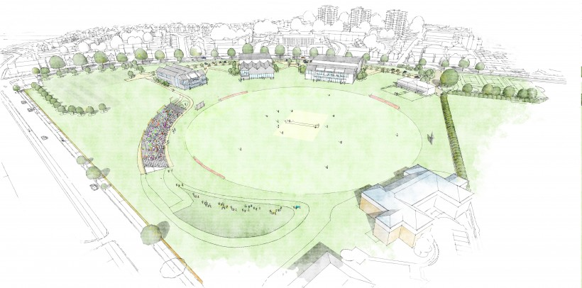 Kent County Cricket Club receive planning consent for Beckenham development