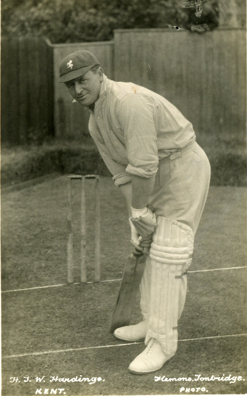 Wally Hardinge: Kent Cricket legend, Newcastle United and Arsenal forward
