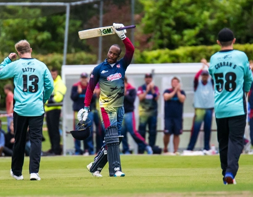 Daniel Bell-Drummond hits century as England Lions beat Sri Lanka A