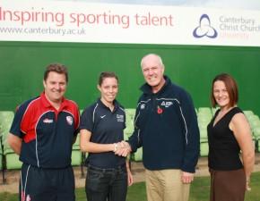 Kent Cricket Academy and Canterbury Christ Church University offer bursary to future cricket stars
