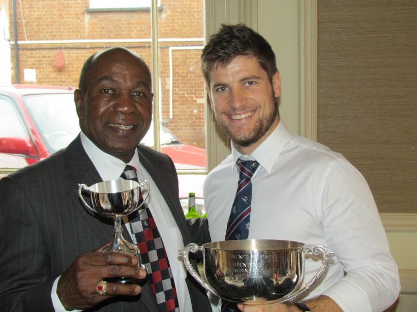 Sean Dickson wins Supporters Club award