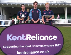 Trio pick up Kent Reliance Academy awards