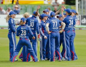 England Women beat India at Canterbury in 1st NatWest Women's International T20.