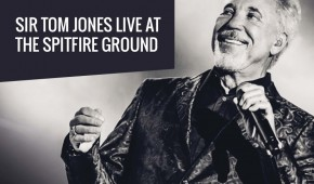 Sir Tom Jones live at The Spitfire Ground