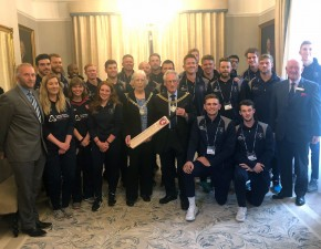 Kent squads honoured by Lord Mayor of Canterbury