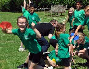 Cricket – providing smiles in school!
