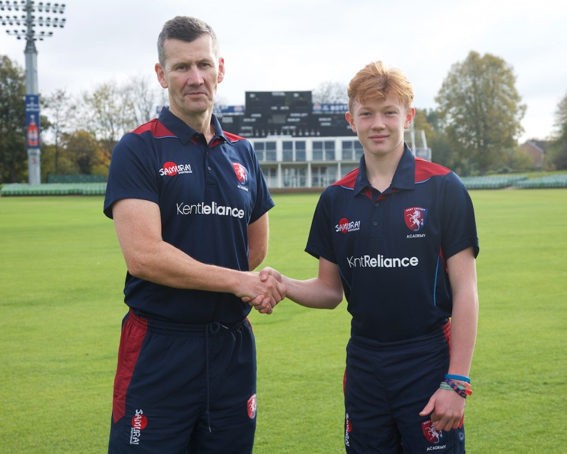 Academy scholar hits two centuries in U17 match