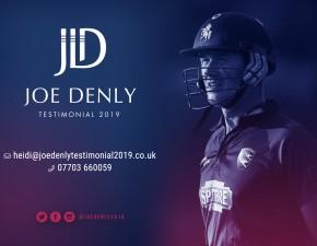 Joe Denly awarded Testimonial Year