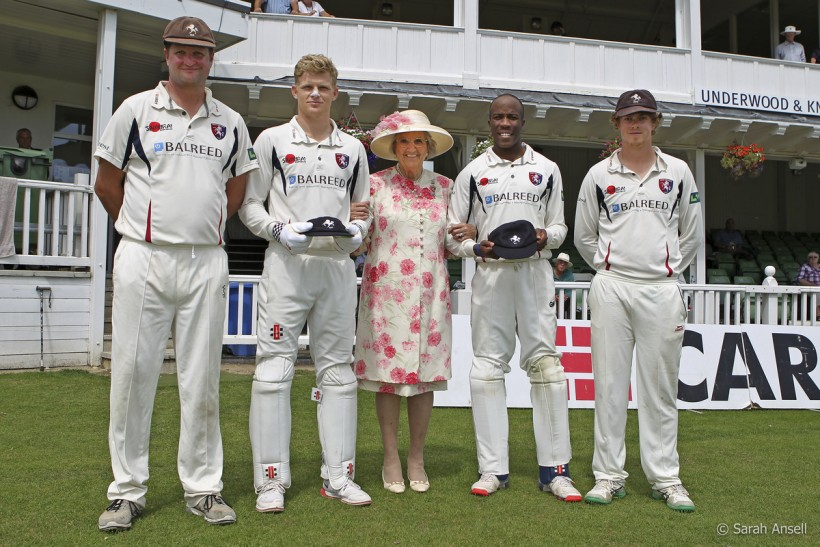 Daniel Bell-Drummond and Sam Billings awarded county caps