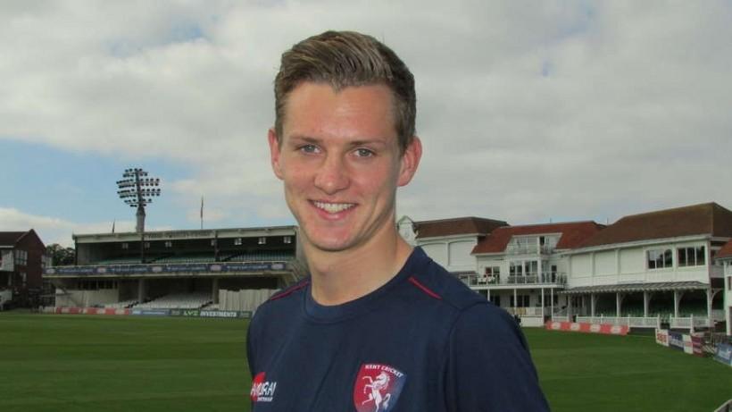 Kent County Cricket Club confirm signing of Charlie Hartley and Matt Hunn