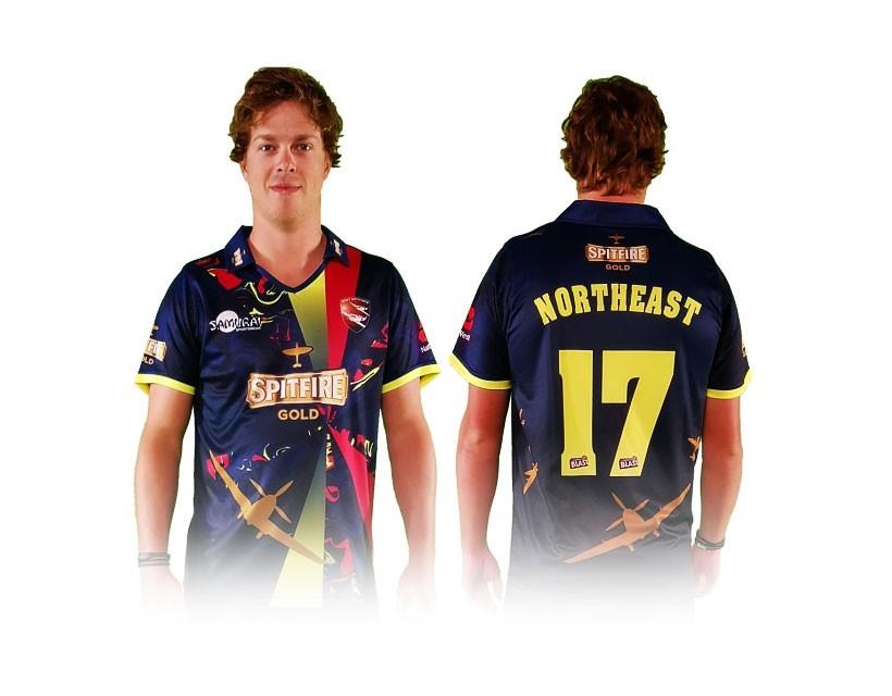 New Spitfires T20 shirt has golden touch