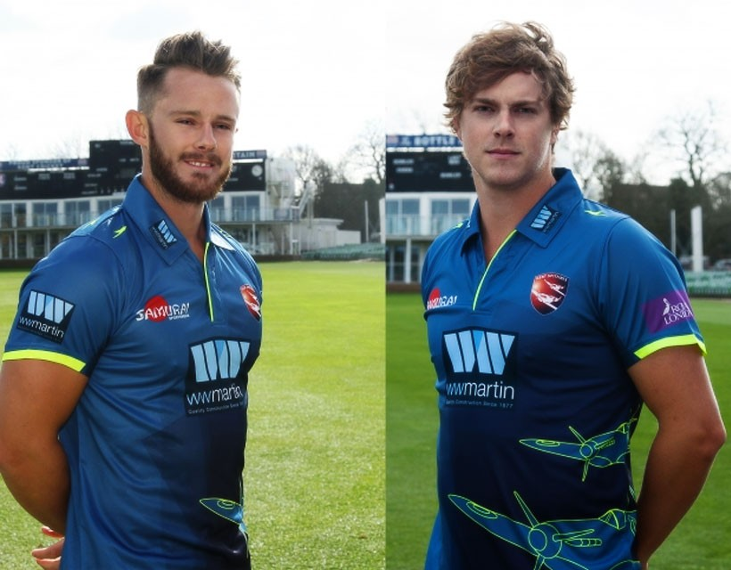 Kent reveal new One-Day Cup shirt