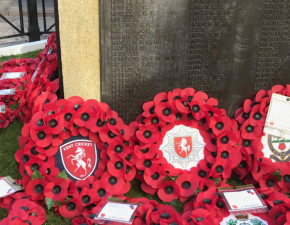 Club marks 101st anniversary of end of First World War