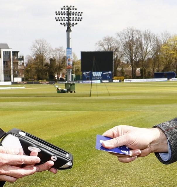 Kent Cricket goes cashless at Canterbury & Beckenham