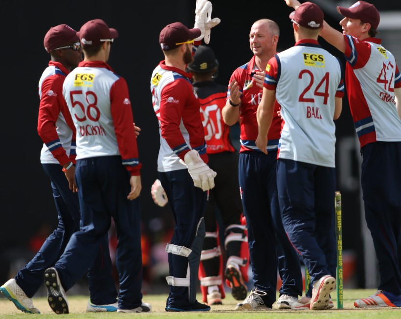 Kent go out of Super 50 with T&T defeat
