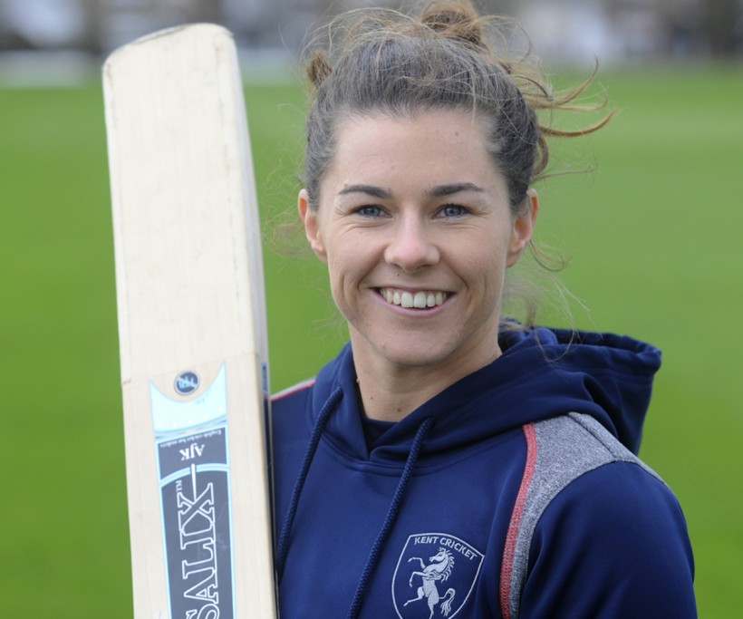 Beaumont stars with bat and gloves in Kent Women win
