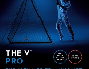 'The V' cricket batting net from Cook and Matthews Sport