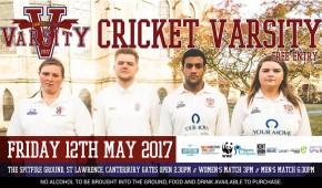 Varsity Cricket 2017: Free Entry